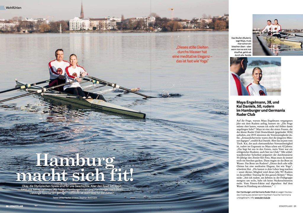 Hamburg macht sich fit!