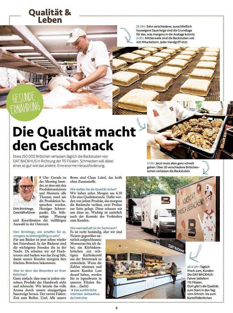 DATBackhus Kundenzeitschrift 1/2017